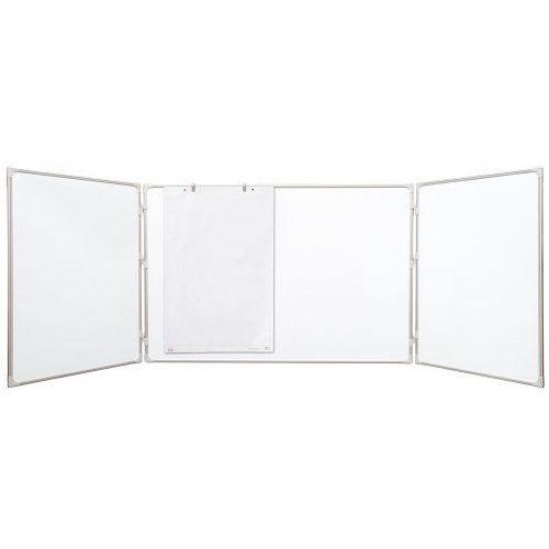 Tablica rozkładana suchościeralno-magnetyczna ceramiczna 170x100/340cm marki 2x3