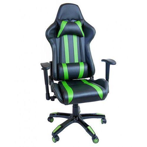 FOTEL Gamingowy obrotowy dla graczy Gamer DEUS XX, deus xx green