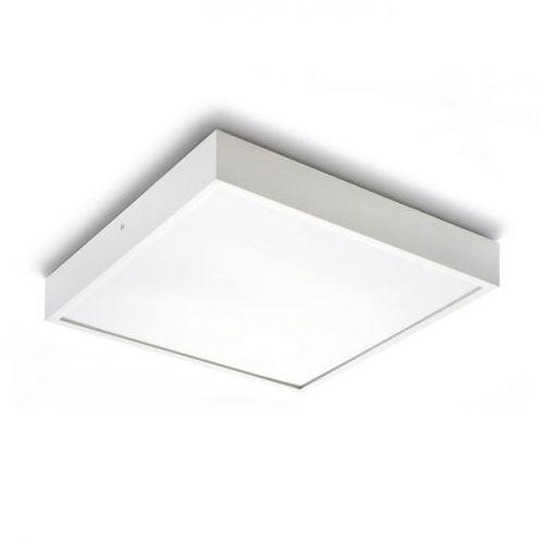 lampa sufitowa STRUCTURAL 40x40 biała, REDLUX R10255
