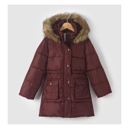 R essentiel Długa kurtka puchowa z kapturem 3-12 lat, kategoria: kurtki dla dzieci