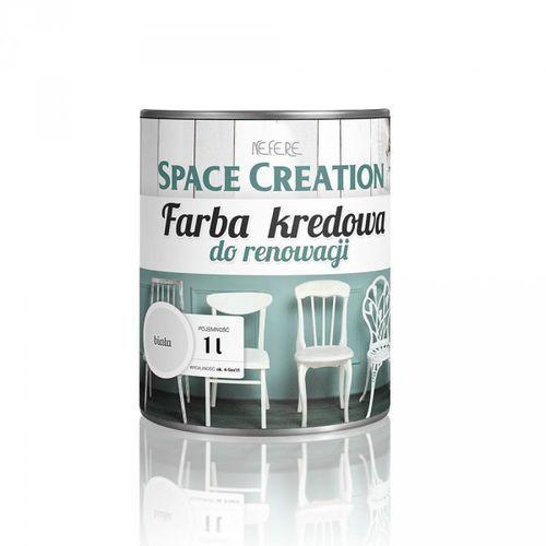 Space creation Farba kredowa do renowacji mebli - biała 1 litr