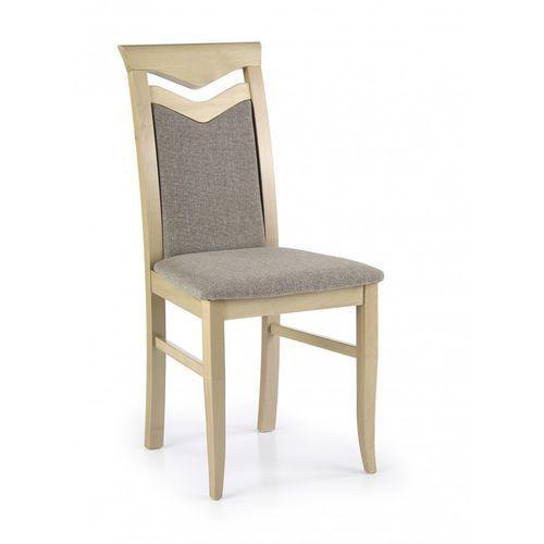 Stylowe krzesło z drewna Citrone dąb sonoma / Gwarancja 24m / NAJTAŃSZA WYSYŁKA!, kolor Stylowe