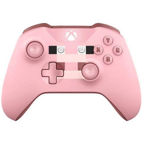 Kontroler xbox one minecraft pig + kontroler 20% taniej przy zakupie konsoli xbox! + darmowy transport! marki Microsoft