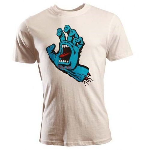 Koszulka - screaming hand white (white) rozmiar: xl marki Santa cruz