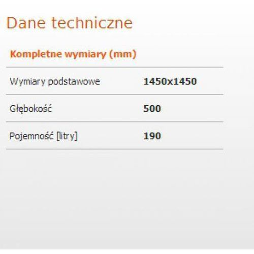 Sanplast Altus 145 x 145 (610-120-0650-01-000)