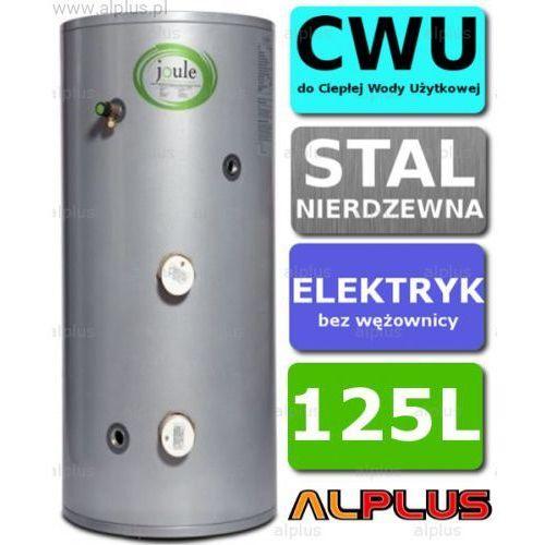 Bojler elektryczny 125L JOULE CYCLONE DIRECT nierdzewka grzałka 2x3kW podgrzewacz CWU bez wężownicy Wysyłka gratis!, TCPMVD-0125LFC