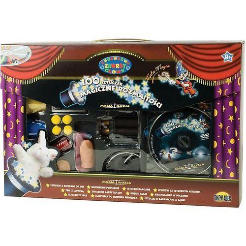 - zestaw małego magika 100 sztuczek + dvd marki Dromader