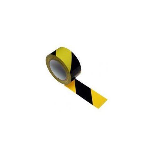 Grupa morado Taśma samoprzylepna żółto czarna szerokość 100 mm