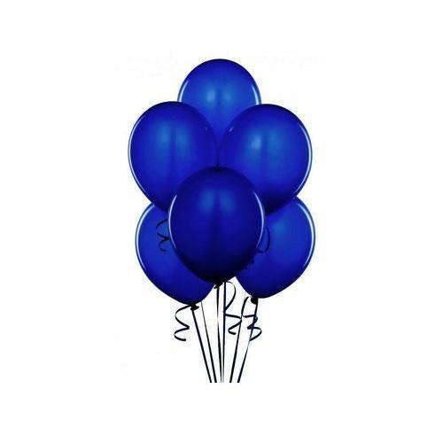 Balony lateksowe pastelowe granatowe - duże - 100 szt. marki Party deco