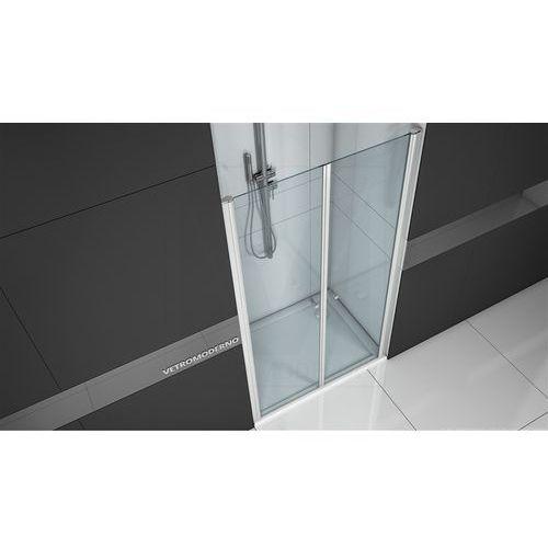 Drzwi prysznicowe uchylne 100 cm VT