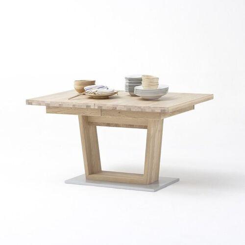 Fato luxmeble Esperanto stół rozkładany 140-220 cm dąb sękaty olejowany bianco