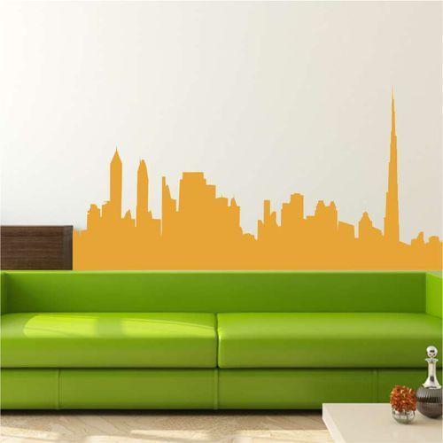 szablon do malowania panorama miasta skyline 2279