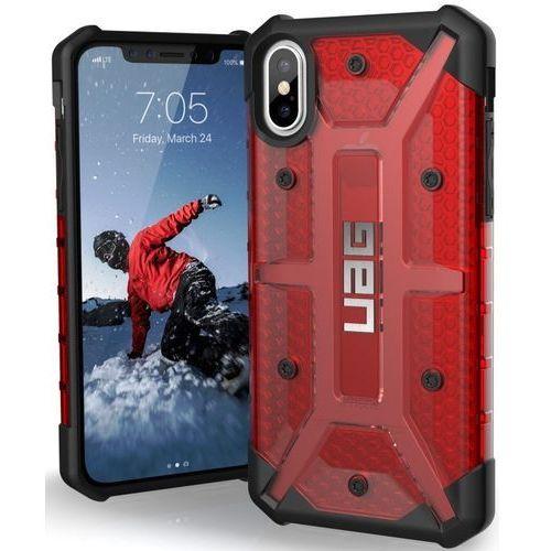 Etui URBAN ARMOR GEAR IPHX-L-MG do iPhone X Czerwony, kolor czerwony