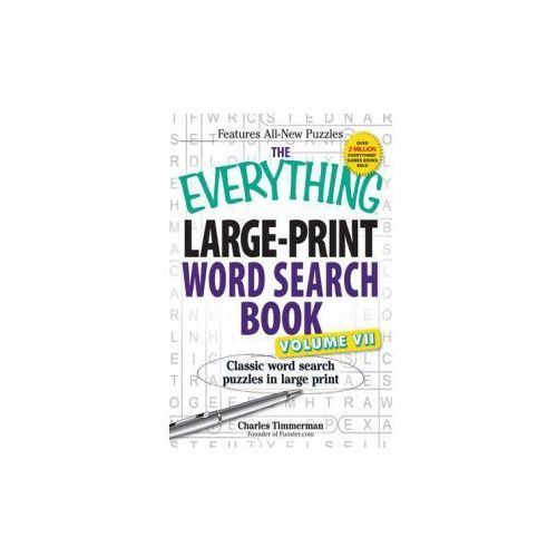 The Everything Large-Print Word Search Book, Volume VII