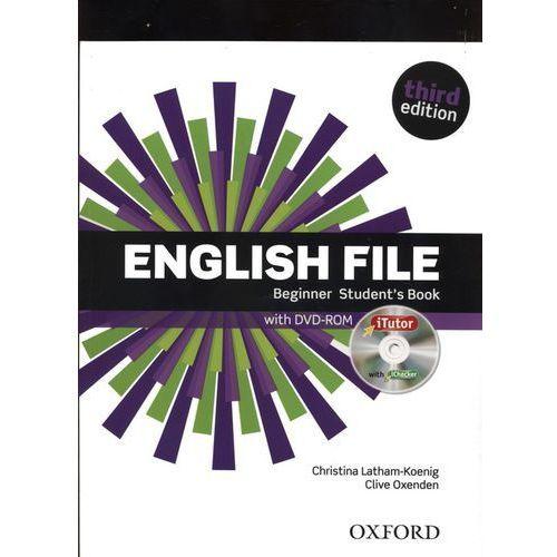 English File: Beginner: Student's Book & iTutor (9780194501835). Najniższe ceny, najlepsze promocje w sklepach, opinie.