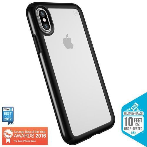 presidio show etui obudowa iphone x (clear/black) marki Speck