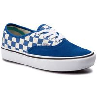 Tenisówki VANS - Comfycush Authent VN0A3WM7VNA1 (Checker) Lapis Blue/True, kolor niebieski