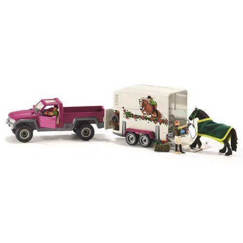 Półciężarówka z koniem i przyczepą - DARMOWA DOSTAWA!!! (4055744005626)