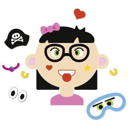 Buźka magnetyczna gra dziewczynka marki Goki
