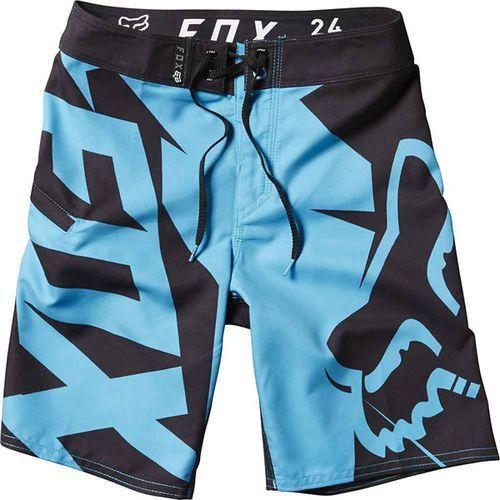 strój kąpielowy FOX - Yth Motion Fractured Brdshrt Acid Blue (588), kolor niebieski