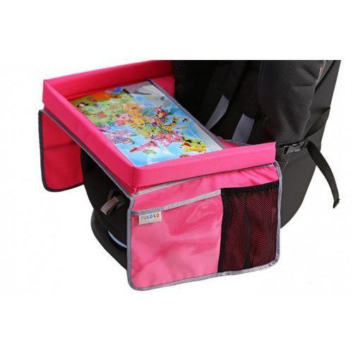 Bezpieczny stolik podróżnika Tuloko - różowy