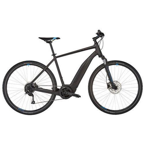 """cross hybrid one 500 rower elektryczny crossowy czarny 50cm (28"""") 2018 rowery elektryczne marki Cube"""