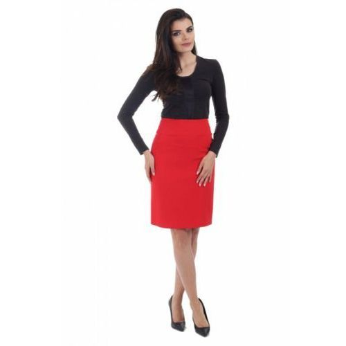 Spódnica Model J 8 Red, kolor czerwony