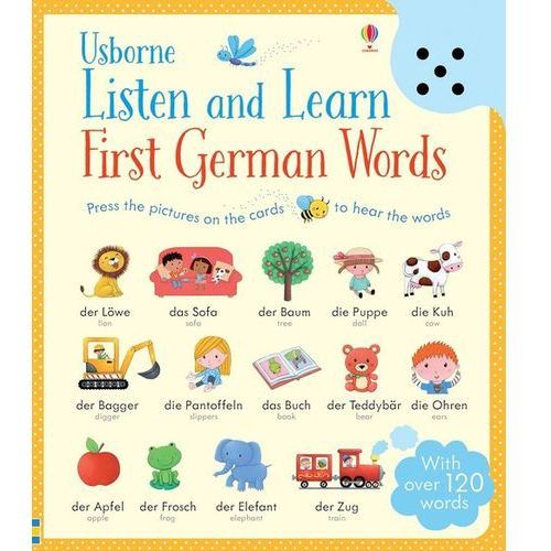 Listen and Learn First German Words, Usborne