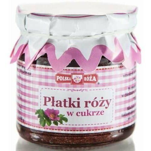 Konfitura z Płatków Róży w Cukrze 220g - Polska Róża (5902768174632)