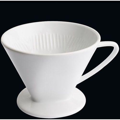 - porcelanowy filtr do kawy na 4 filiżanki (średnica: 14 cm) marki Cilio