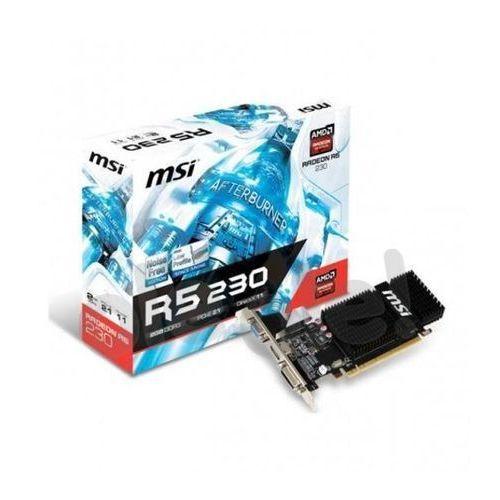 MSI Radeon R5 230 2GB GDDR3 64bit - produkt w magazynie - szybka wysyłka!