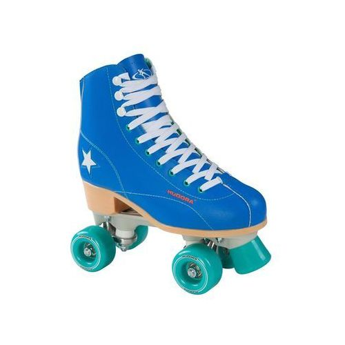 Hudora disco roller skates blue/mint green size 3 (4005998129081)