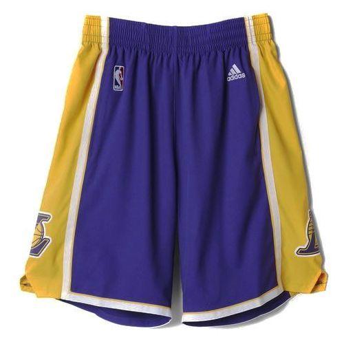 Spodenki do koszykówki Adidas Los Angeles Lakers Swingman - A20640