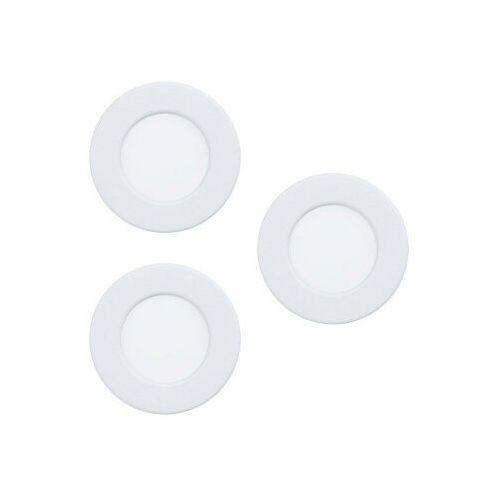 Eglo fueva 5 99135 zestaw opraw 1x7.4w led biały