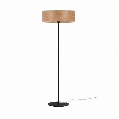 Tsuri xl 1_f podłogowa wiśnia (drewno naturalne) czarny czarny marki Sotto luce