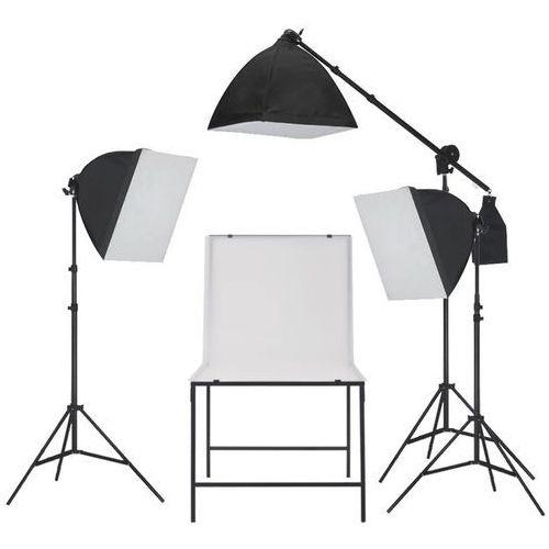 oświetleniowy zestaw softbox do studia ze stołem fotografii marki Vidaxl