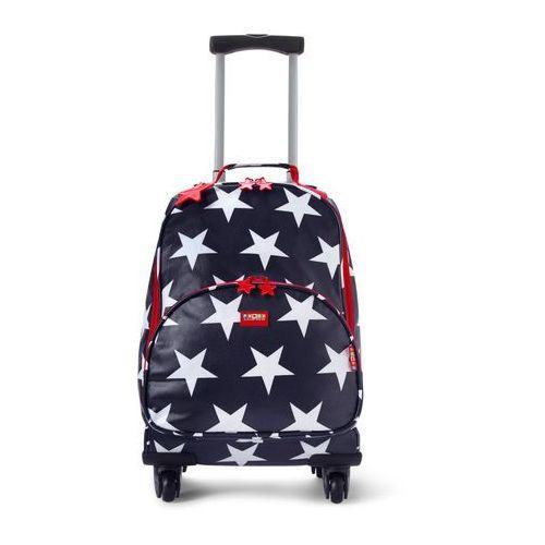 Penny Scallan Design, walizka na czterech kółkach, granatowa w gwiazdki, kup u jednego z partnerów