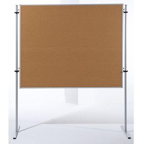 Carto Ścianka funkcyjna, wys. x szer. 1500x1200 mm, korek naturalny, opak. 2 szt. zawi
