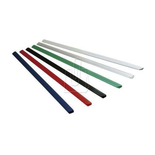 Listwy (grzbiety) wsuwane standard 4mm 50 sztuk białe, 80563