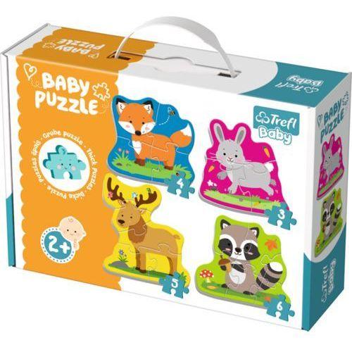 Trefl Baby classic - zwierzątka leśne (5900511360776)