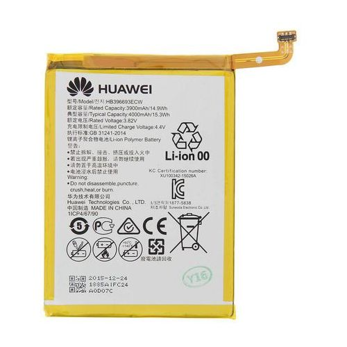 Huawei mate 8 / hb396693ecw 3900mah 14.9wh li-polymer 3.8v (oryginalny)