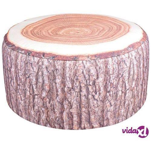Esschert design ogrodowy nadmuchiwany puf, pień drzewa, bk014