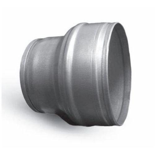 Elementy okrągłe bez uszczelki Redukcja symetryczna nyplowa ocynkowana spiro rpc 160-100