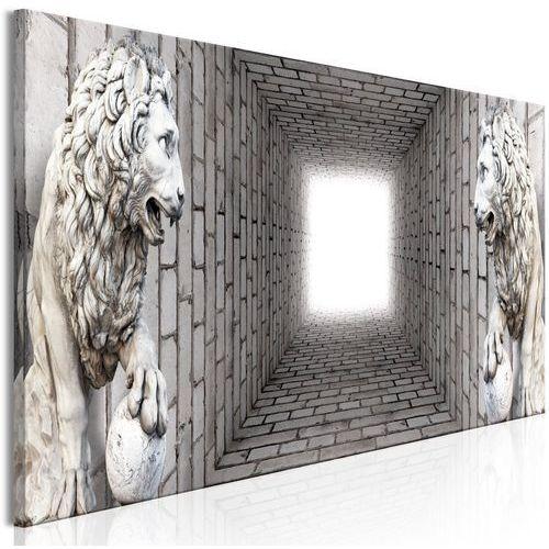 Artgeist Obraz - światło w tunelu (1-częściowy) wąski