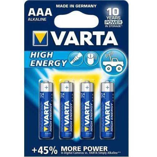 Varta Bateria he 4 aaa spo blister 4903