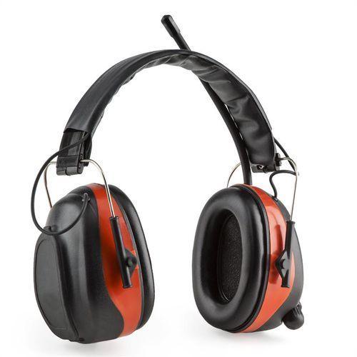 auna auna Jackhammer BT słuchawki ochronne przeciwhałasowe radio UKF Bluetooth 4.0 AUX-In SNR 28 dB - produkt z kat. słuchawki