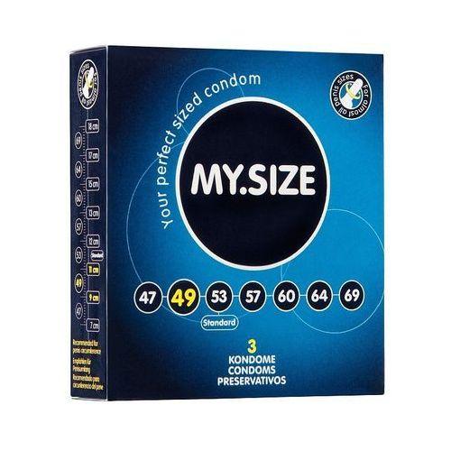 My.size - prezerwatywy lateksowe 49 mm (3 szt.) marki My.size (ge)