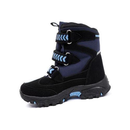 OKAZJA - Hasby Granatowe śniegowce dziecięce 2014b 25 granatowy