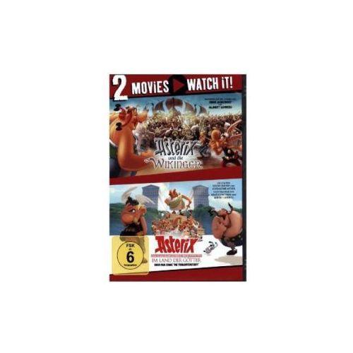 Asterix und die Wikinger / Asterix im Land der Götter, 2 DVD