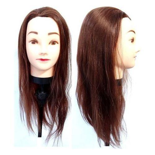Główka fryzjerska treningowa włos 55 cm + uchwyt marki Calissimo